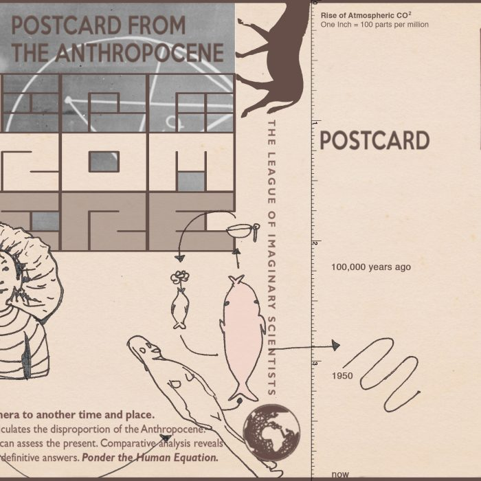 Postcards from the Anthropocene
