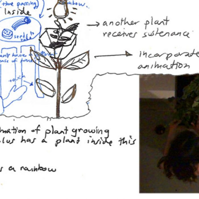 The Grafting Parlour, communicating with plants